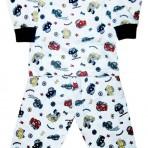 Пижама с маленькими машинками (P-00011)